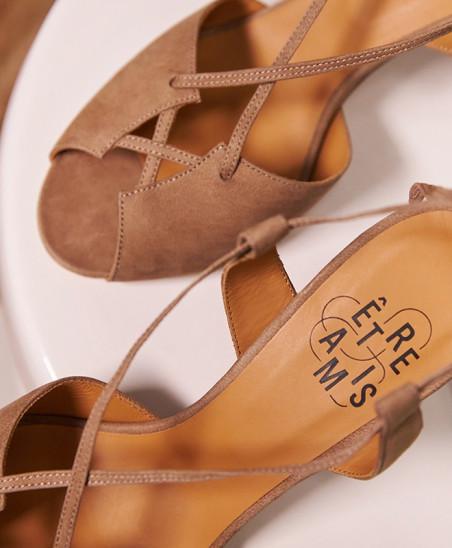 Sandales Stéphanie - Taupe