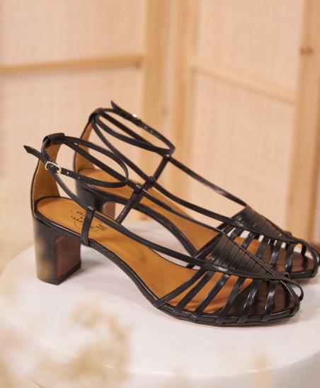 Sandales Brune - Noir