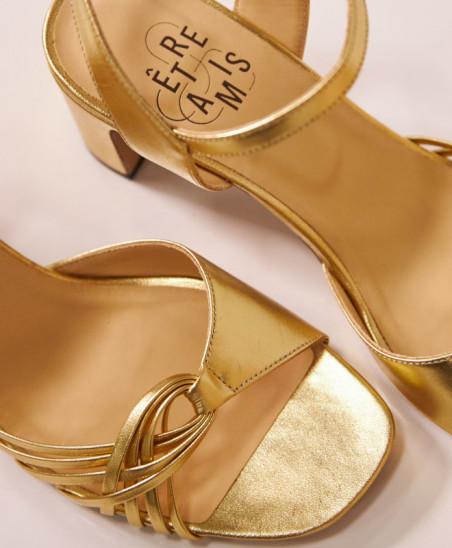 Sandales Nadette - Or