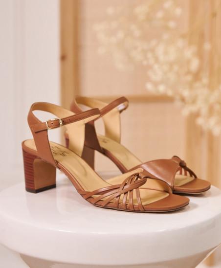 Sandales Nadette - Camel