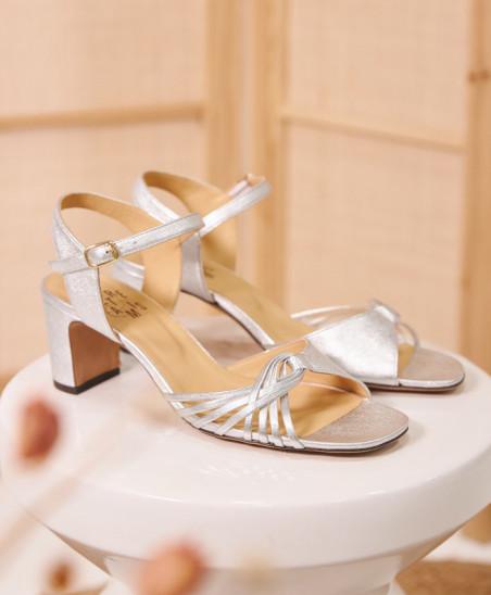 Sandales Nadette - Argent