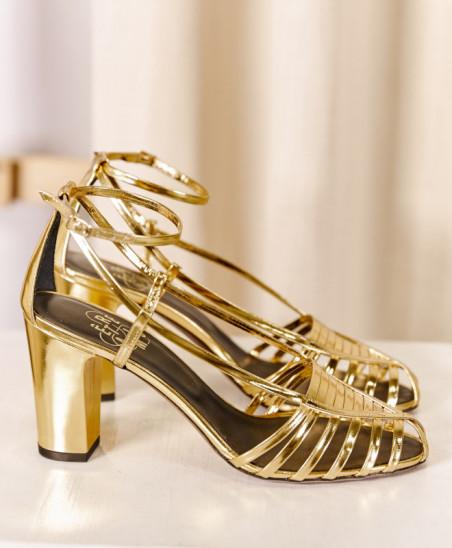 Sandales Audrey - Gold