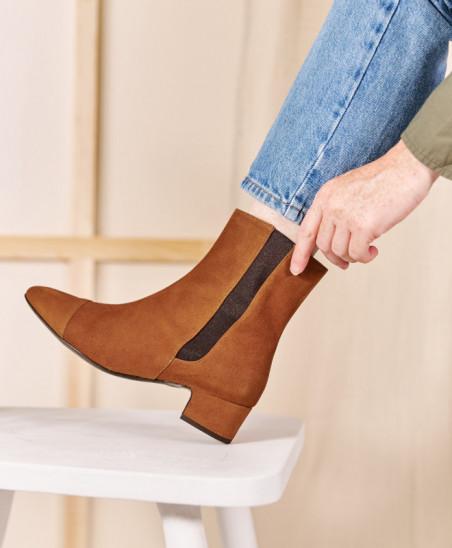 Chelsea Boots Laure - Camel...