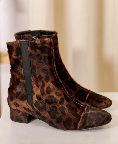Chelsea Boots Laure - Léopard