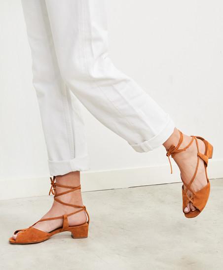 Sandales Marie - Camel