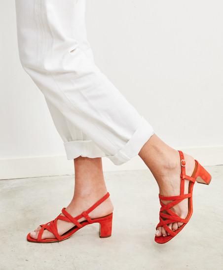 Sandales Maryse - Corail