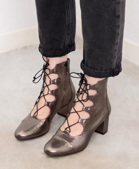 Boots Justine - Bronze
