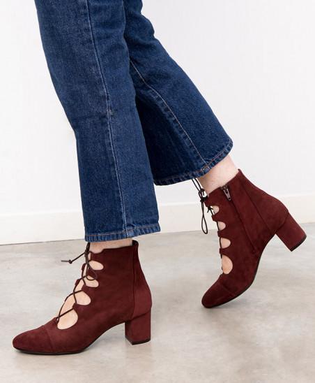 Boots Justine - Acajou
