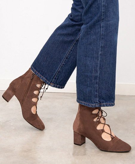 Boots Justine - Cannelle