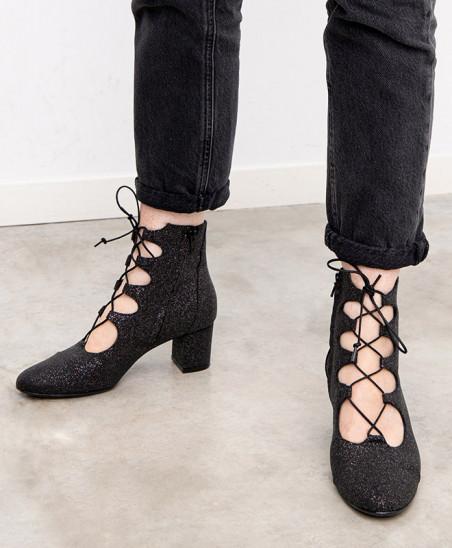 Boots Justine - Noir...