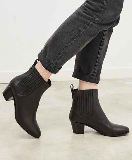 Bottines Cécile - Noir
