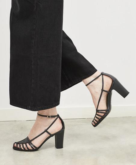 Sandales Audrey - Noir