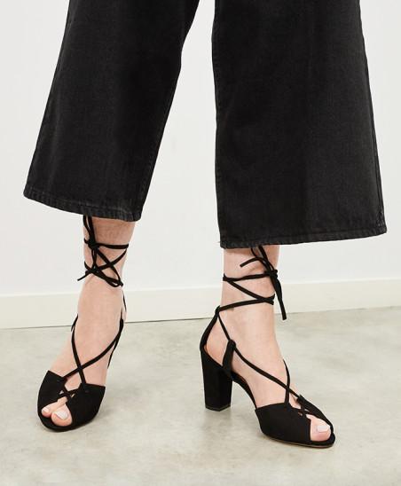 Sandales Stéphanie - Noir