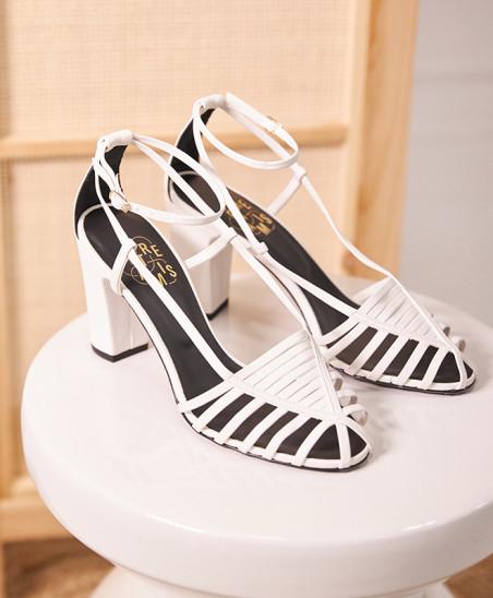 Sandales Audrey - Blanc