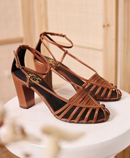 Sandales Audrey - Camel