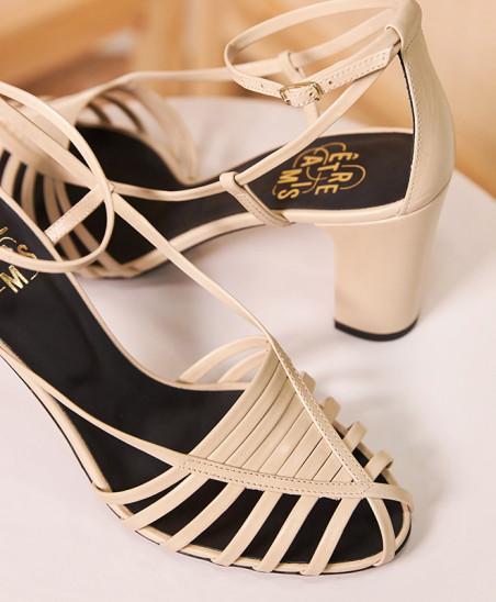 Sandales Audrey - Beige
