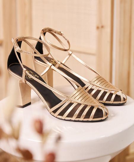 Sandales Audrey - Doré
