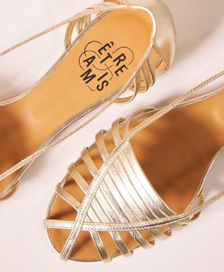 Ballerines Mahault - Gold