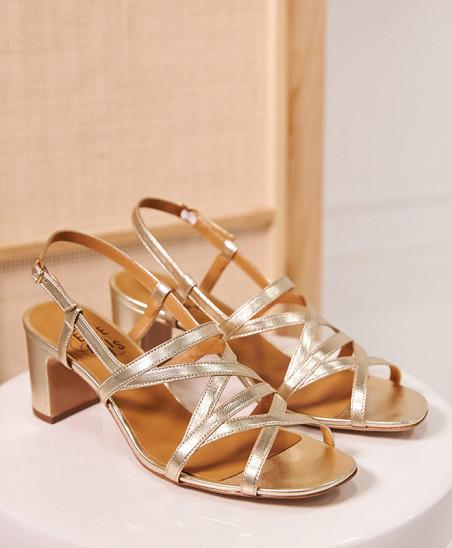 Sandales Maryse - Gold